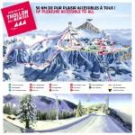 plan de piste domaine skiable thollon